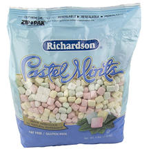 Richardson's Pastel Mints - 4 lb. bag