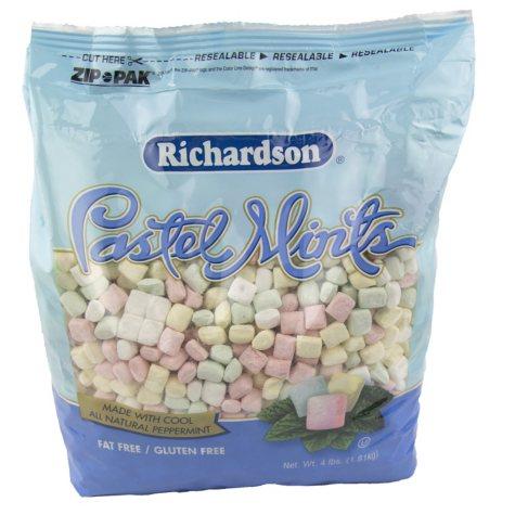 Richardson's Pastel Mints - 4 lb. bag