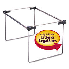 "Smead Steel Hanging Folder Frame for Drawers, 12-24"" Long ( 2ct.)"