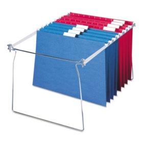 """Smead Steel Hanging Folder Frame for Drawers, 23-27"""" Long (Letter,  2ct.)"""
