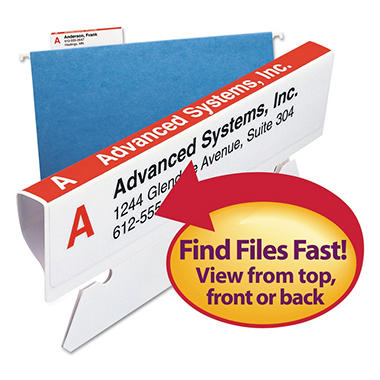 Smead Viewables Color Labeling System Refill Pack, Labels Only, 160ct.