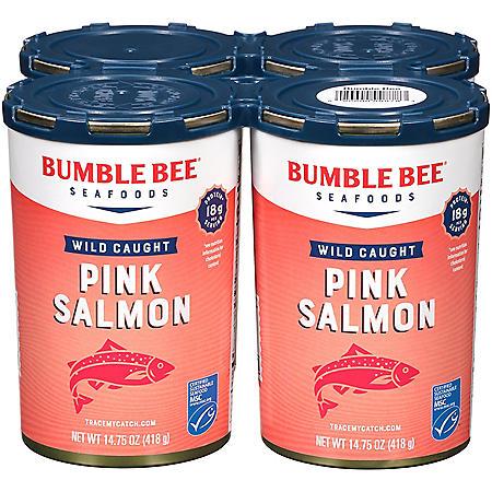 Bumble Bee Pink Salmon - 14.75 oz. - 4 ct
