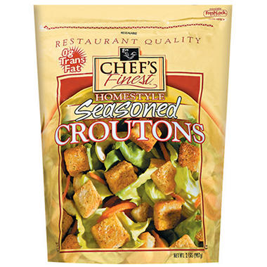 Chef's Finest™ Seasoned Homestyle Croutons - 2 lbs.