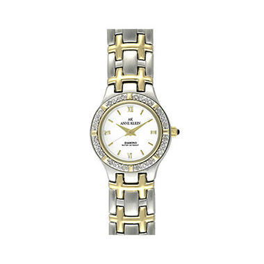 Anne Klein Ladies' Watch with Diamond Accents