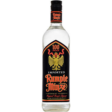 Rumple Minze Peppermint Schnapps Liqueur (750 ml)