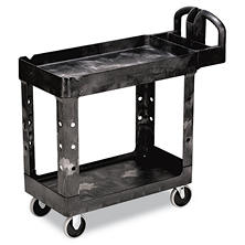 Rubbermaid Heavy-Duty Utility Cart (Choose Your Size & Color)