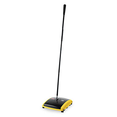 carpet sweeper. rubbermaid dual action floor and carpet sweeper