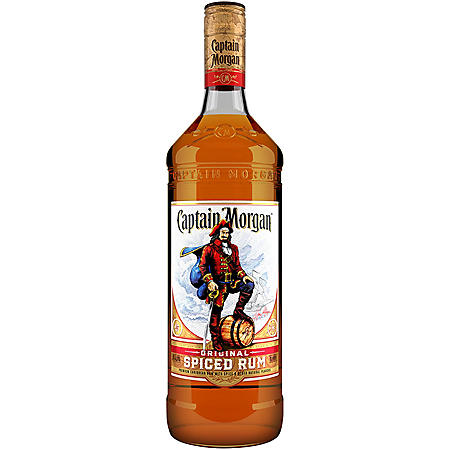 +CAPTAIN MORGAN RUM SPICED 1 LITER