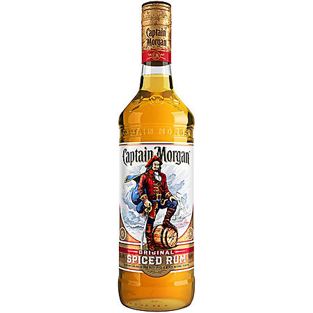 Captain Morgan Original Spiced Rum (750 ml)