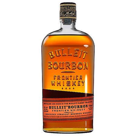 BULLEIT BOURBON WHISKEY 750ML