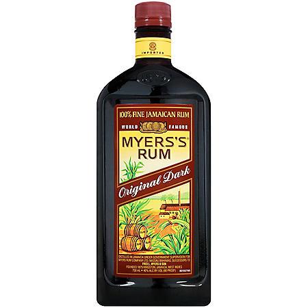 Myers's Original Dark Rum (750mL)