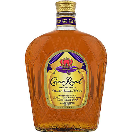 Crown Royal Fine Deluxe Blended Canadian Whisky (1L)