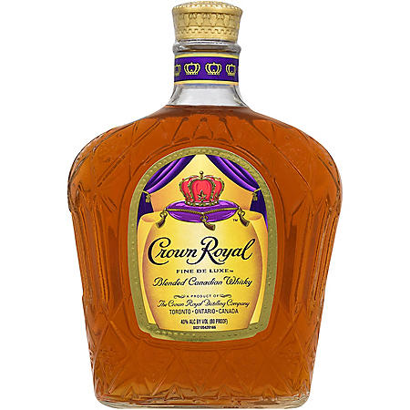 +CROWN ROYAL 750ML CANADIAN WHISKY