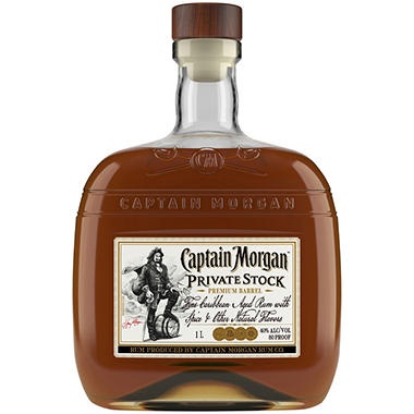 Captain Morgan Private Stock Rum (1L)