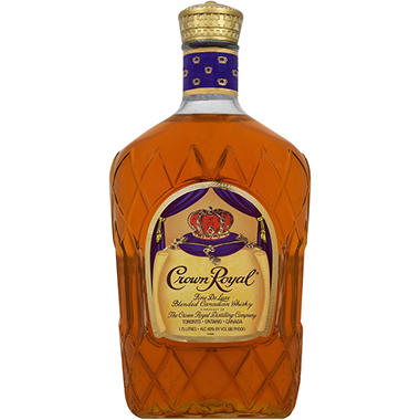Crown Royal Fine De Luxe Blended Canadian Whisky (1.75 L)