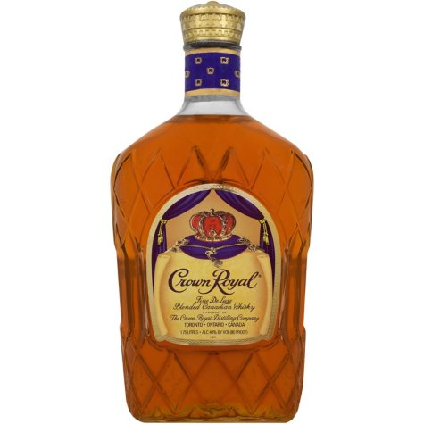 xoffline-Crown Royal Fine De Luxe Blended Canadian Whisky (1.75 L)
