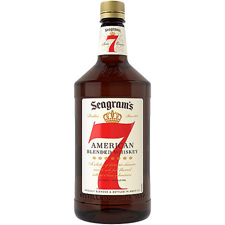Seagram's 7 Crown American Blended Whiskey (1.75L)