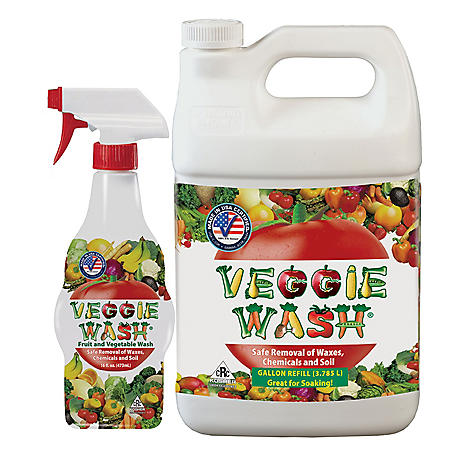 Veggie Wash All-Natural Fruit and Vegetable Wash (144 oz.)