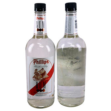 Phillips White Rum (1 L)