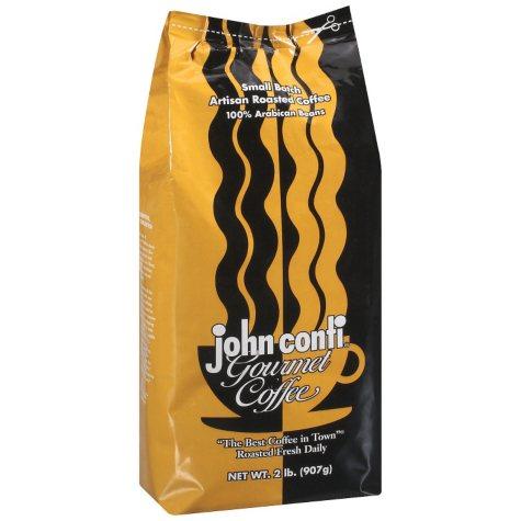 john conti Gourmet Coffee (2 lb.)