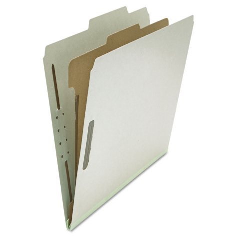 Universal Pressboard Classification Folder, 10/Box (Various Options)