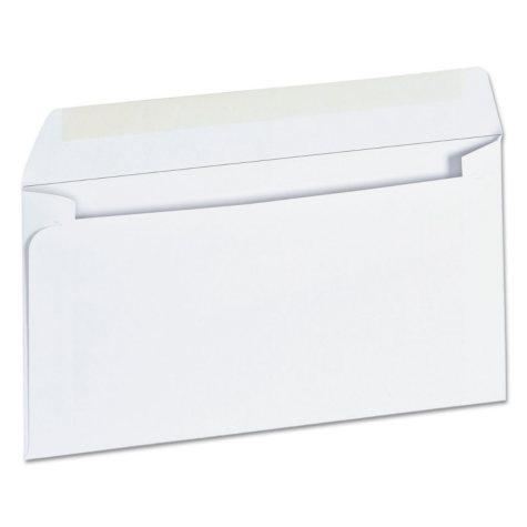 "Universal® Business Envelope, #6 3/4,"" 3 5/8"" x 6 1/2"", White, 500/Box"