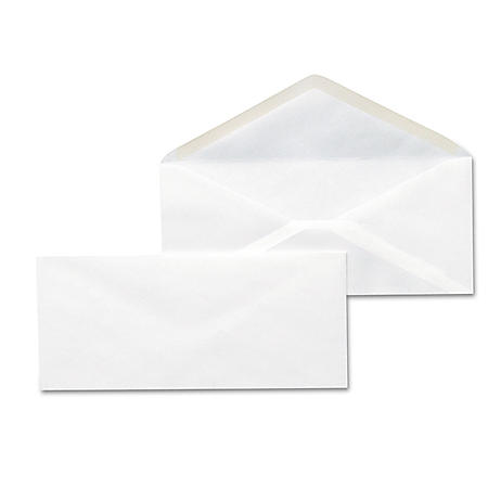 Universal #10  Business Envelope, V-Flap, White, 500ct.