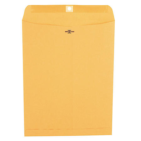 "Universal Clasp Envelope, Side Seam, 28lb, 10"" x 13"" Kraft, 100ct."