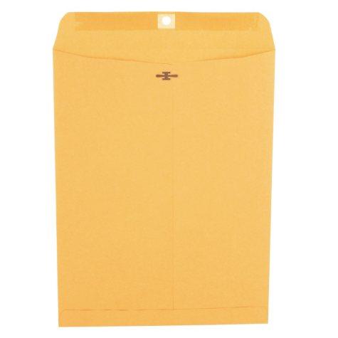 "Universal Clasp Envelope, Side Seam, 28lb, 10"" x 13"" Kraft, 100ct."