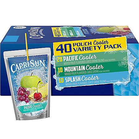 Capri Sun Coolers Variety Pack (6oz / 40pk)