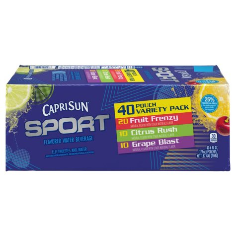 Capri Sun Sport Variety Pack (6 oz., 40 ct.)