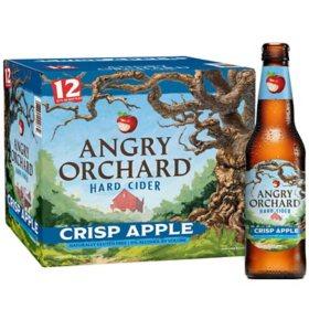 Angry Orchard Hard Cider Crisp Apple (12 fl. oz. bottle, 12 pk.)