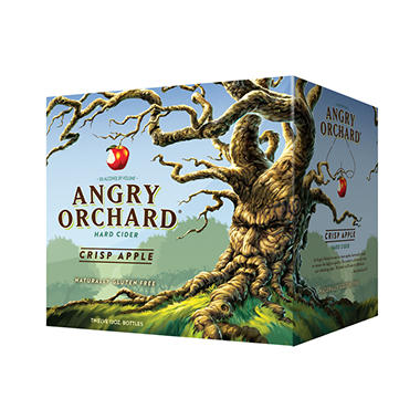 XOFFLINE+ANGRY ORCHARD  APPLE 24 / 12 OZ BOTTLES