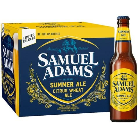 SAM ADAMS SEASONAL 12 / 12 OZ BOTTLES