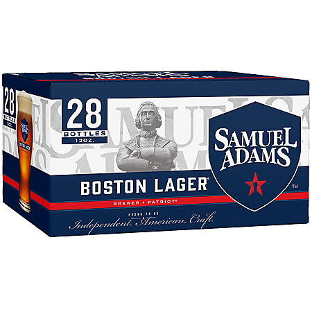 SAM ADAMS LAGER 28 / 12 OZ BOTTLES