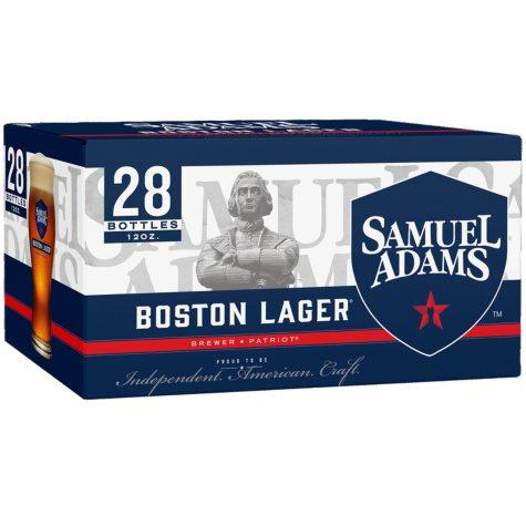 SAM ADAMS LAGER 28 / 12 OZ BOTTLES