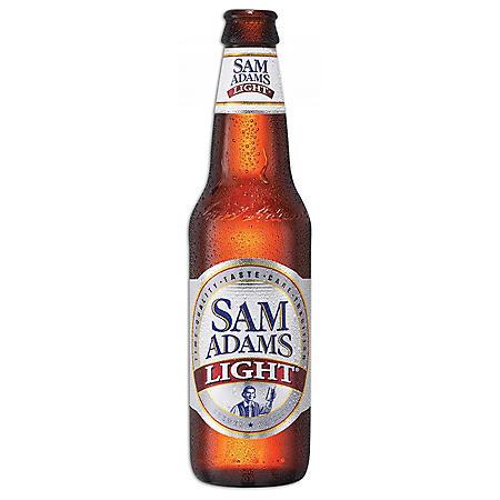 Sam Adams Light (12 fl. oz. bottle, 6 pk.)