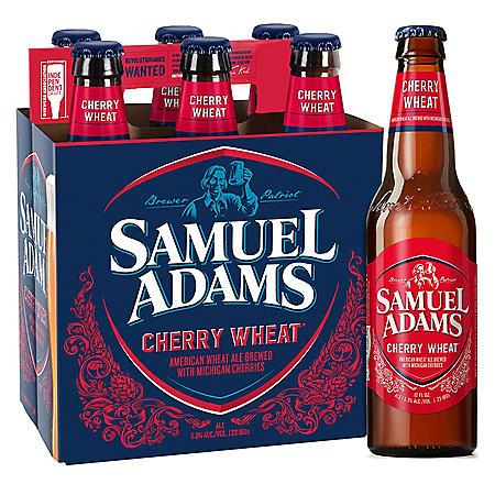 SAM ADAMS CHERRY 6 / 12 OZ BOTTLES