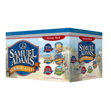 Samuel Adams Summer Styles Variety Pack - 12 oz. Bottles - 24 pk.