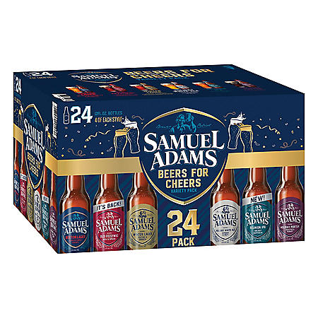 Samuel Adams Winter Classics Variety Pack (12 oz. bottles, 24 pk.)