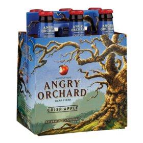 Angry Orchard Hard Cider Crisp Apple (12 fl. oz. bottle, 6 pk.)