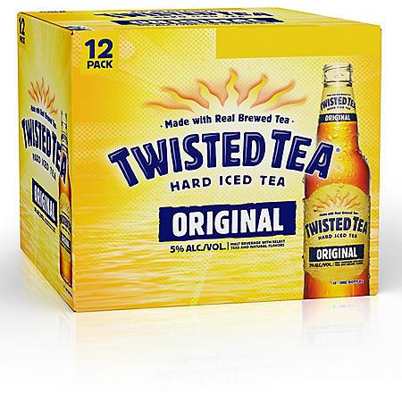 Twisted Tea Hard Iced Tea Original (12 fl. oz. bottle, 6 pk.)