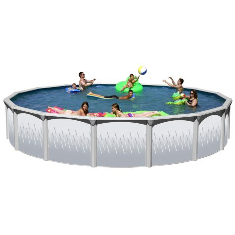 Round Revel Complete Above Ground Pool Package