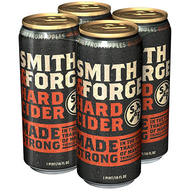 Smith & Forge Hard Cider (16 fl. oz. can, 4 pk.)