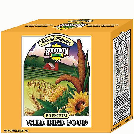 Audubon Park Nature's Elegance Wild Bird Food-35lb