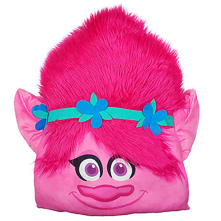 DreamWorks Trolls 3D Ultra Stretch Travel Cloud Pillow