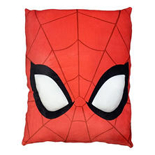 "Marvel's Spider-Man 24"" Square 3D Ultra Stretch Travel Cloud Pillow"