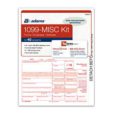 Adams 2016 1099-MISC Tax Forms Software Kit