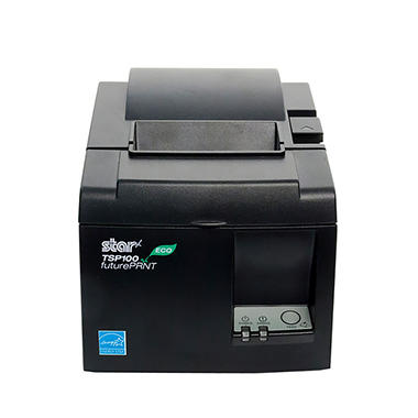 Star Micronics TSP100ECO Thermal Receipt Printer, Grey
