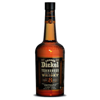 George Dickel Classic No. 8 Tennessee Whisky (750 ml)